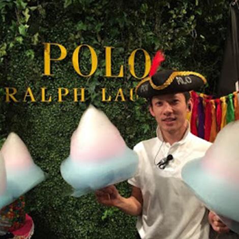 『ラルフローレンパーティー』に出店しました
