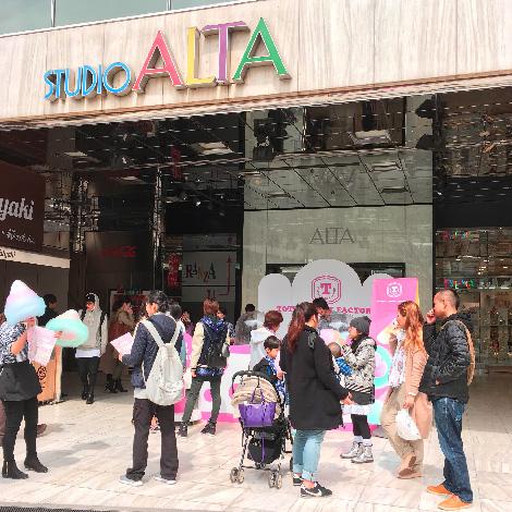 『新宿アルタ』に出店しました